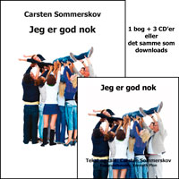 """Jeg er god nok"" CD/download/app cover"