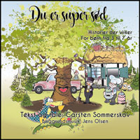"""Du er super sød"" CD/downloading/App cover"