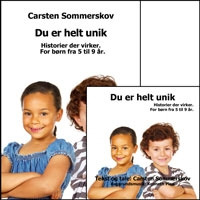 """Du er helt unik"" CD/download/app cover"